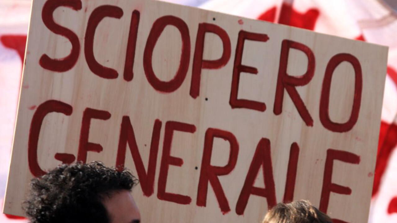 Nuovo sciopero generale dei dipendenti pubblici e privati anche a Verona  dal 15 al 20 ottobre
