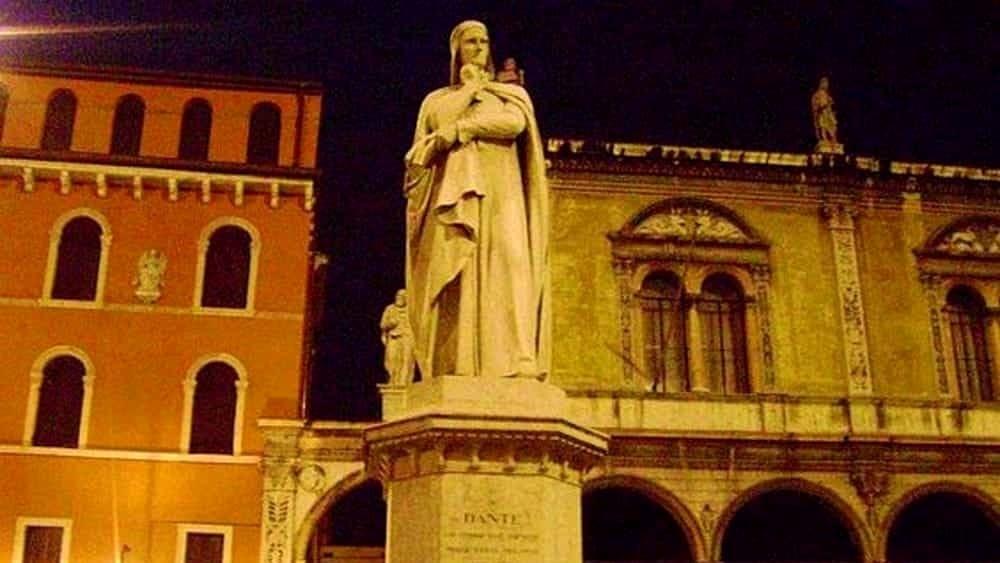 Dante a verona alla riscoperta dei luoghi del soggiorno for Soggiorno a verona
