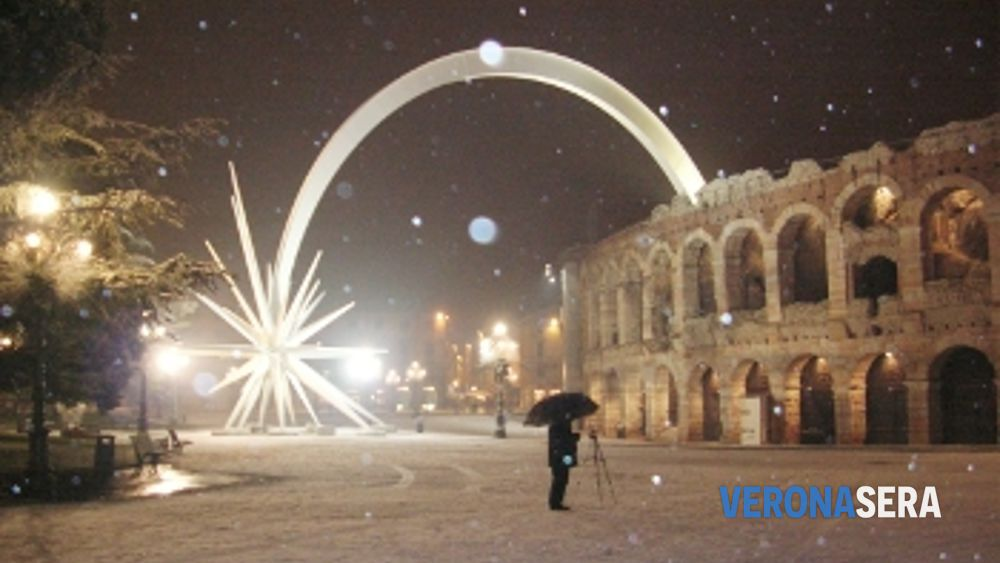 Meteo Verona. La neve tornerà con l'anno nuovo ma sarà un ...