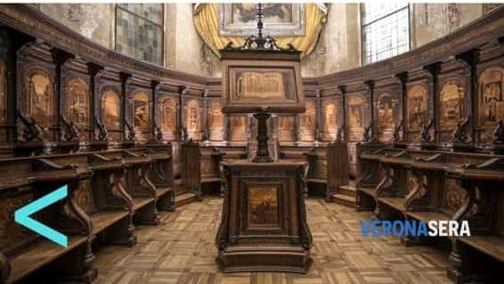 """A Verona l'incontro """"Cura e valorizzazione. Interventi di conservazione sul coro ligneo di Fra Giovanni"""" - Verona Sera"""
